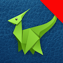 Origami Dinosaurs And Dragons: Paper Guides icon
