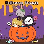 Cute Wallpaper Halloween Friends Theme