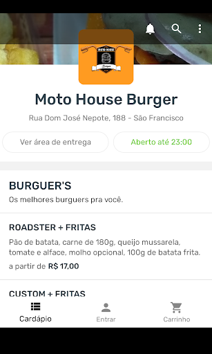 Moto House Burger screenshots 2