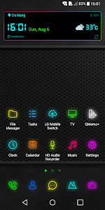 Neon Theme for LG G6 V20 G5 1 0 2 APK for Android