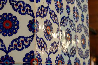 Photo: Inside the Rustem Pasa Mosque