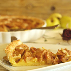 Custard and Apple Pie