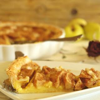 Custard and Apple Pie.