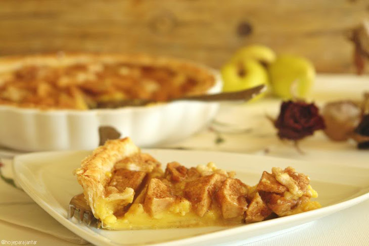 Custard and Apple Pie Recipe