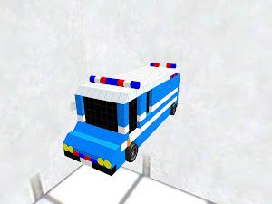 delivery van(police)