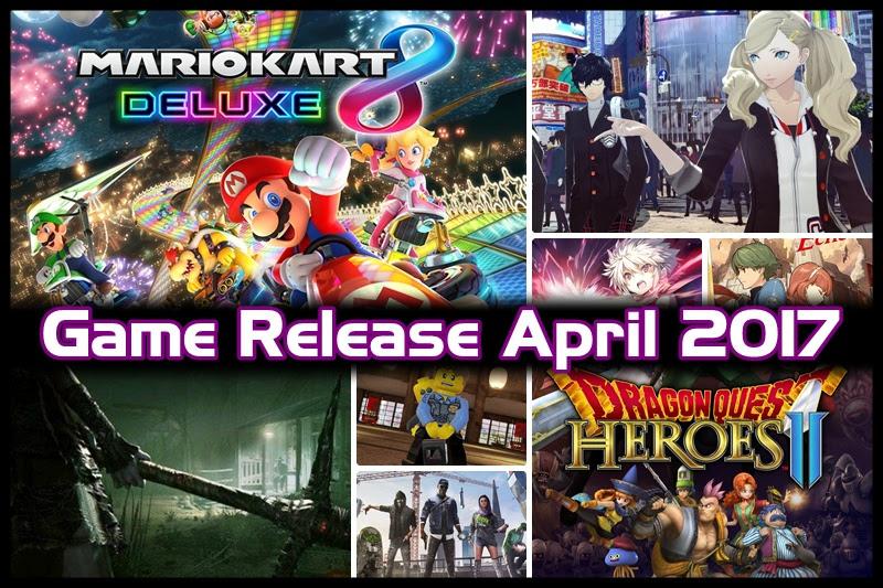 [Game Release] เกมเด็ด! เดือนเมษายน 2017