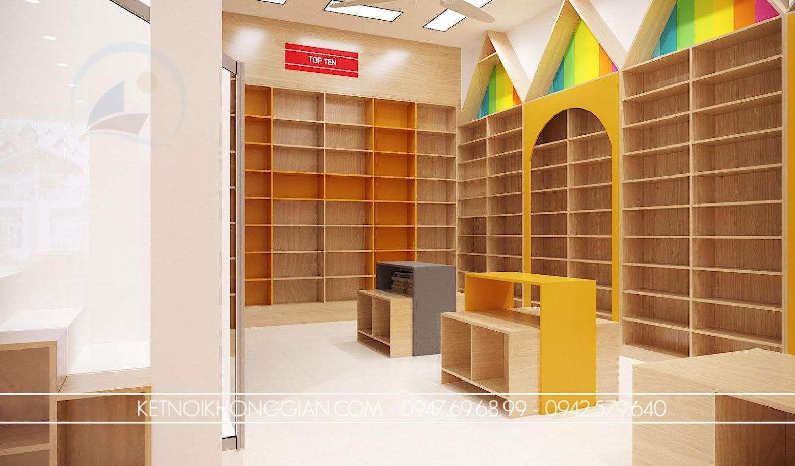 chất liệu gỗ làm nhà sách