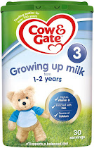 Cow & Gate 3 Growing Up Milk Formula - 800g