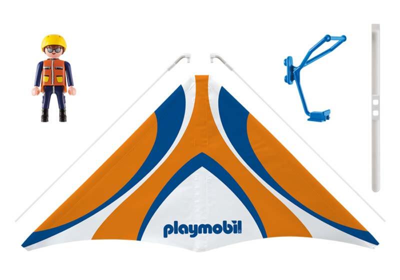 """Contenido real de Playmobil® 9205 Ala Delta """"Jack"""""""