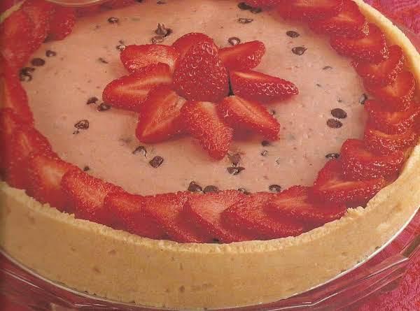 Strawberry Chocolate Chip Cheesecake Recipe