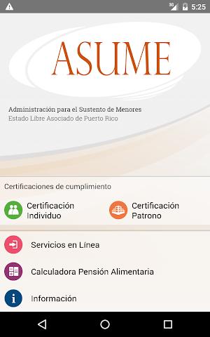 android ASUME Screenshot 5