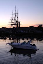 Photo: Boston sunset cruise