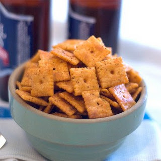 Spicy Cheese Crackers