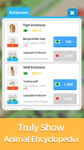 Idle Zoo Tycoon 0.9 screenshots 5