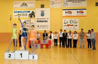 Photo: podium cadete femenino