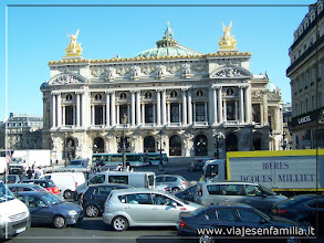 Photo: Ópera Garnier. París. www.viajesenfamilia.it