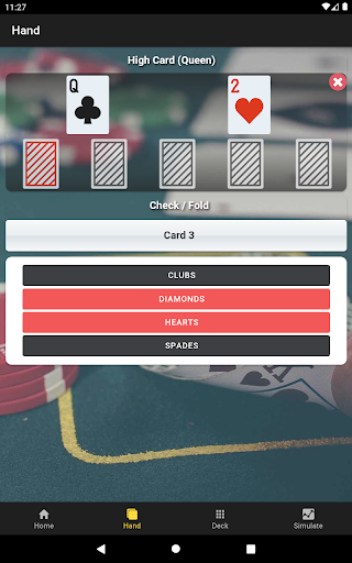 Poker Odds Emulator Lite 8 8