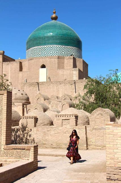 Dia 25 - Explorando a cidade de KHIVA 🇺🇿  | Crónicas do Rally Mongol