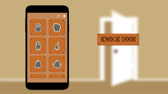 Knock door sound android apps on google play for Door knocking sound