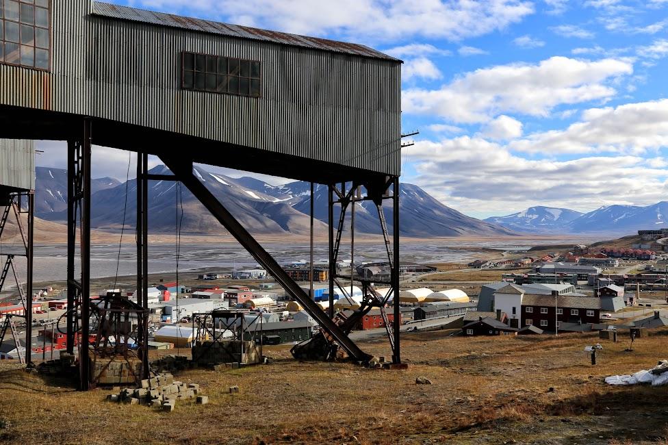Longyearbyen, kopalnia