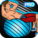 Stability Ball Workout : Swiss Ball Exercises PRO icon