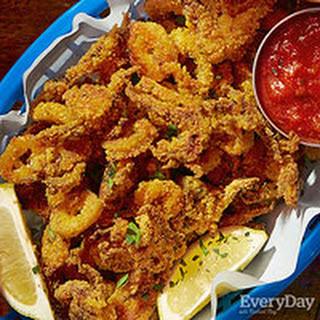 Cornmeal-Crusted Calamari