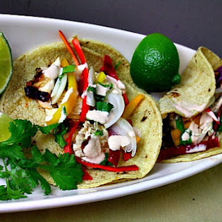 Tomato and Lime Marinated Grilled Chicken Tacos Recipe