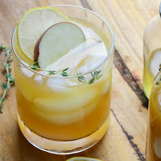 Bourbon Cider Punch.