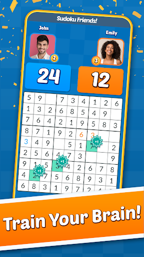 Sudoku Friends - Multiplayer Puzzle Game android2mod screenshots 3