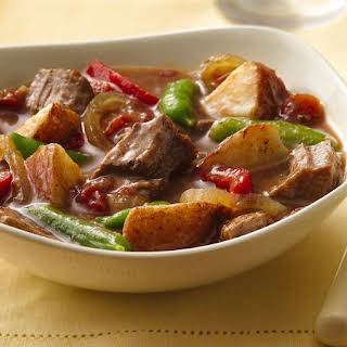 Slow-Cooker Steak and Potatoes Dinner.