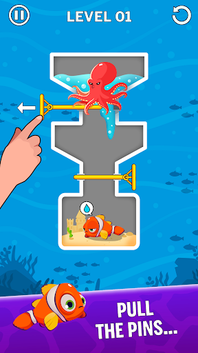 Water Puzzle - Fish Rescue & Pull The Pin 1.0.20 screenshots 1