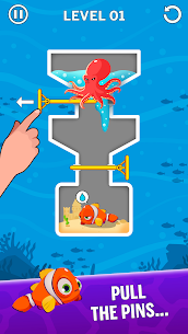 Water Puzzle – Fish Rescue & Pull The Pin 1