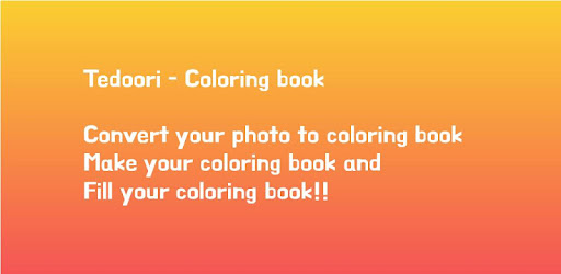 Make your coloring book from your picture!!
