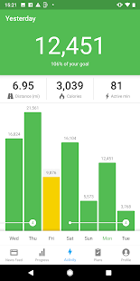 App Runtastic Steps - Step Tracker & Pedometer APK for Windows Phone