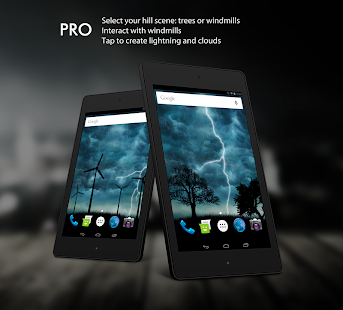 Live Storm Pro Wallpaper Screenshot
