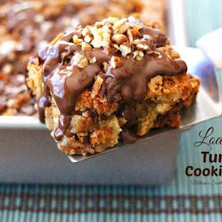Loaded Turtle Cookie Bars Recipe
