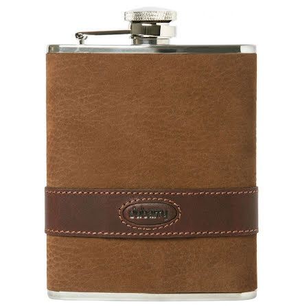 Dubarry Rugby Hip Flask Leather
