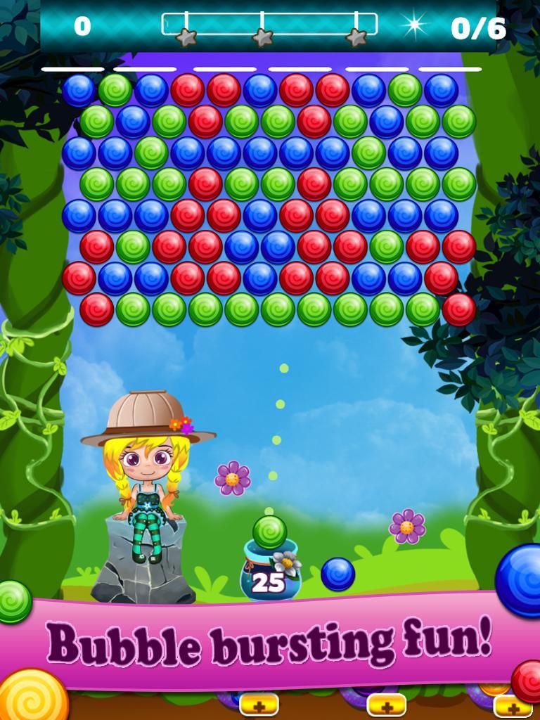 Скриншот Cute Bubble Shooter