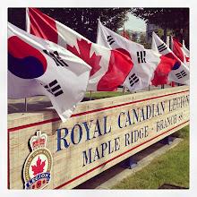 Photo: Korean-Canadian War Veterans Celebration - Royal Canadian Legion, Maple Ridge #intercer #mapleridge #britishcolumbia #canada #veteran #flag #flags #korea #celebration #life #war #pretty #official #lunch #city #hero #live #air #wind #win - via Instagram, http://instagram.com/p/aMMwKYJfmC/