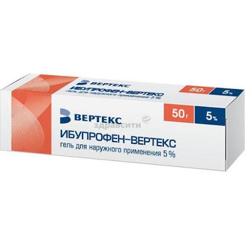 Ибупрофен-верте гель 5 % 50 г