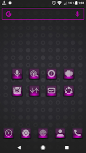 Dera Pink - Icon Pack - náhled