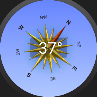 Compass Watch- screenshot