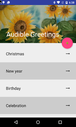 Audible Greeting's Card