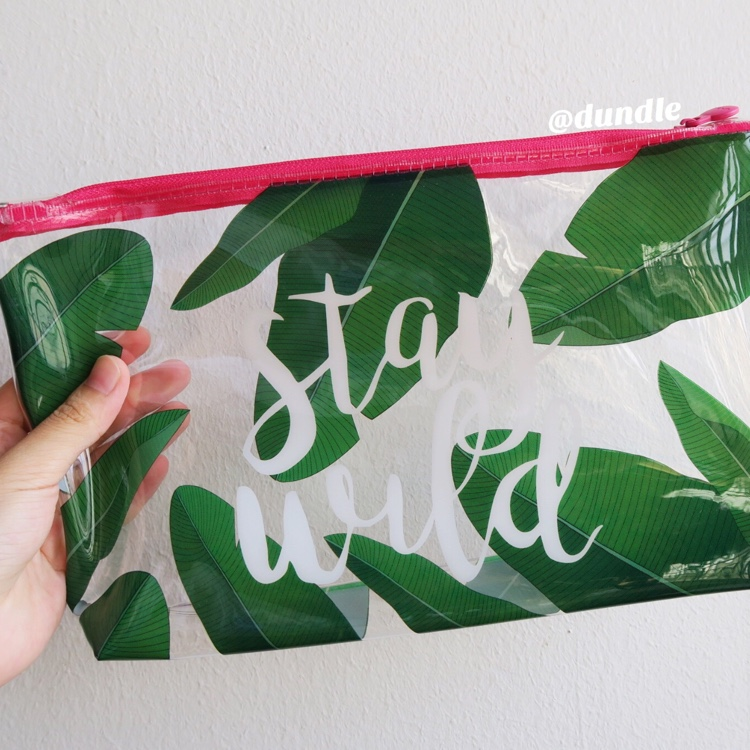 Stay Wild Pouch by dundle