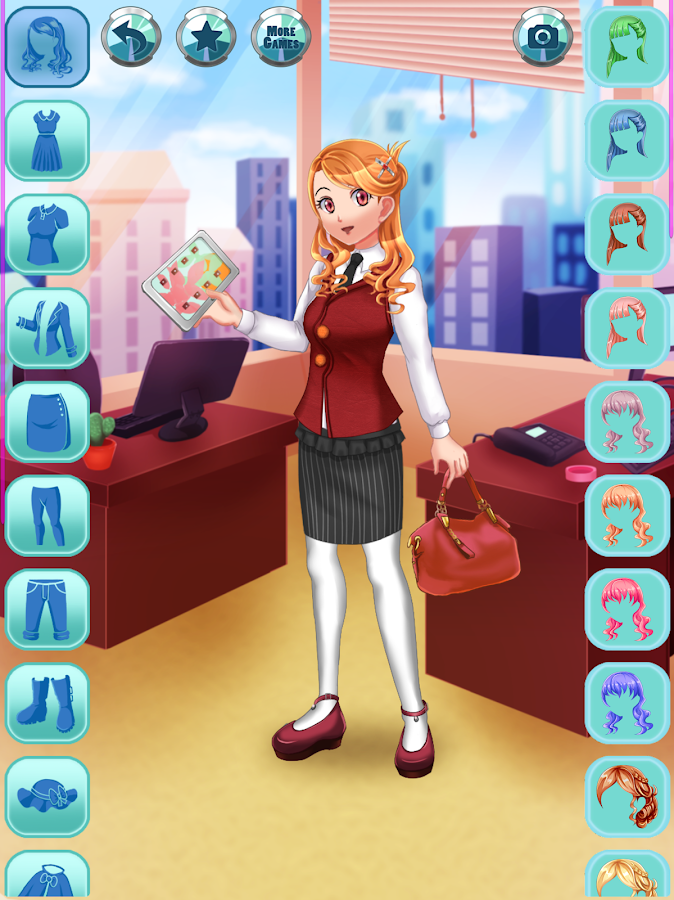 Anime Office Dress Up - Android - 564.3KB