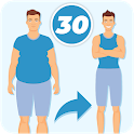 Weight Loss in 30 days - Fat burning Home Workout icon