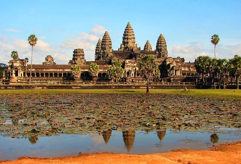 Храмы Ангкора в Камбоджа