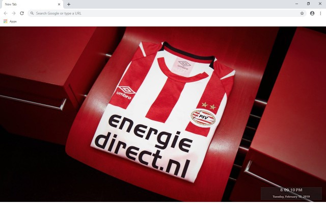 PSV Eindhoven New Tab & Wallpapers Collection