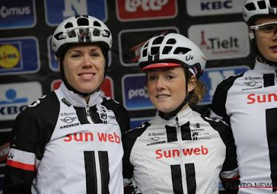 Ellen Van Dijk wint solo Dwars Door Vlaanderen, volledig Nederlands podium