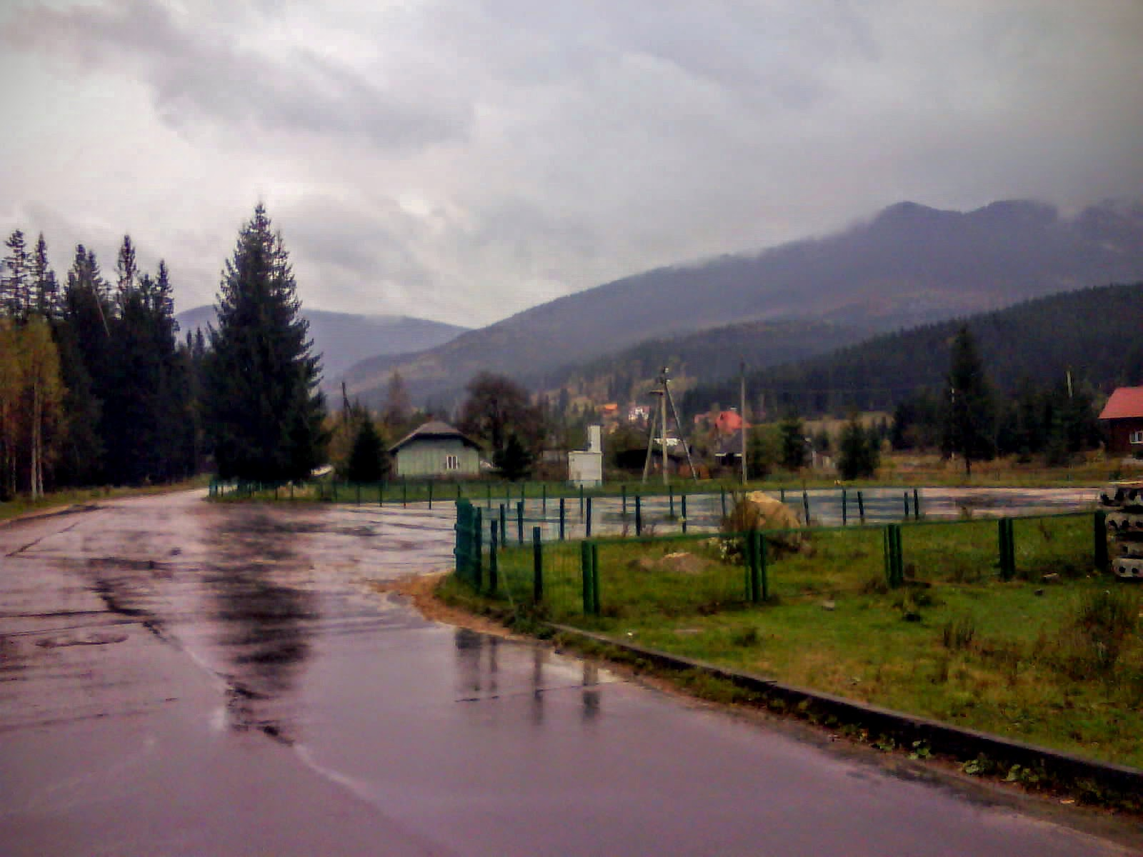 Дощ у Людвиківці